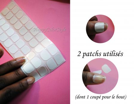 faux ongles avec colle